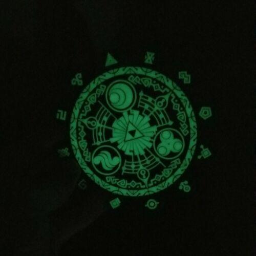 Glow in the Dark Legend of Zelda Skyward Sword Gate of Time Inspired Coaster