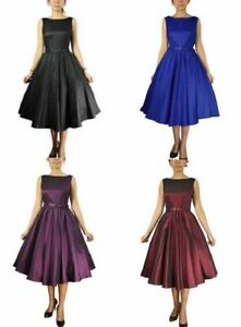 Satin-sleeveless-belted-dress-Plus-Size-18-to-28-more-colours