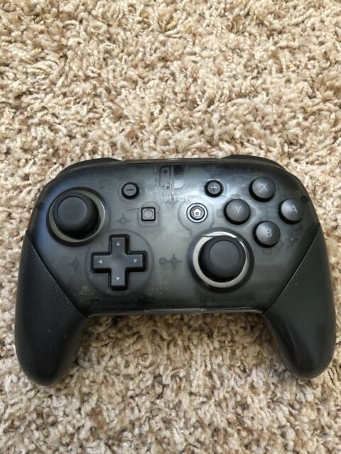 Nintendo Switch Black Official Genuine Pro Controller Wireless ONLY - SEE PICS!