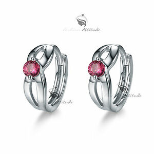 18k-white-gold-gf-made-with-Swarovski-crystal-huggies-earrings-cute-rose-red