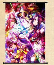 "8/""*12/""Home Decor Japan Cosplay Anime No Game No Life Wall Poster Scroll NG169"