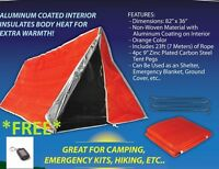 Wilderness Emergency Outdoor Survival Tent - A Must Have In Emergency - Prepper