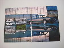 advertising Pubblicità 1983 BMW 524 TD TURBODIESEL