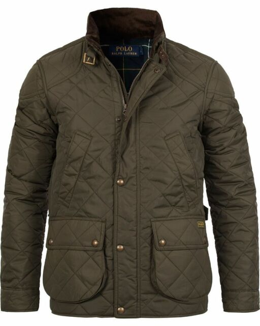 Polo Ralph Lauren Mens Litchfield Cadwell Quilted Bomber Hunting