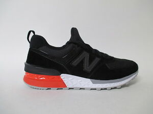 new arrivals ec6a2 60125 Details about New Balance 574 Fresh Foam Black White Red Grey Sz 8 MS574AB
