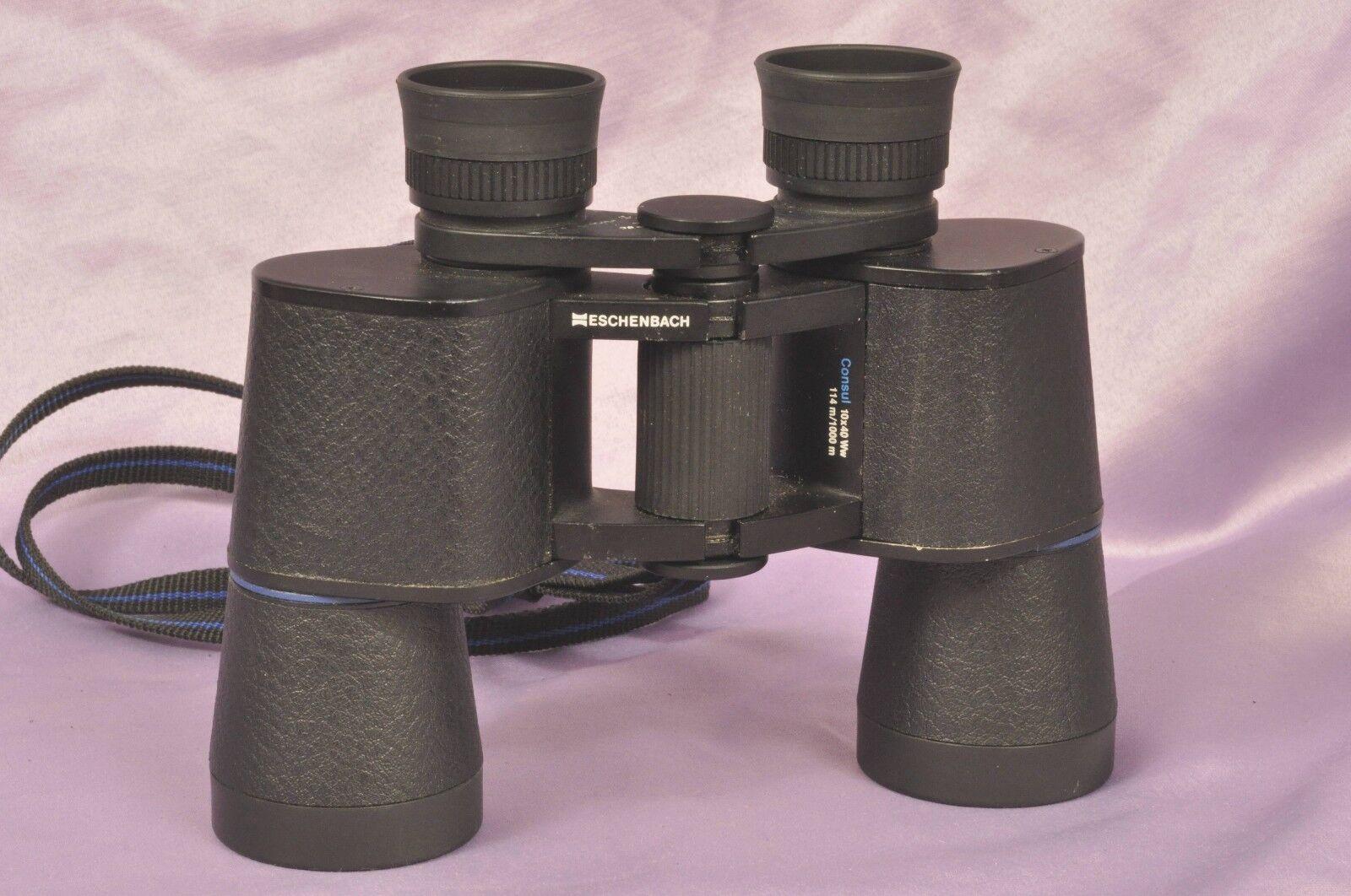 Eschenbach consul 10x40 WW bak. 4 multi remuneración prismáticos binoculares