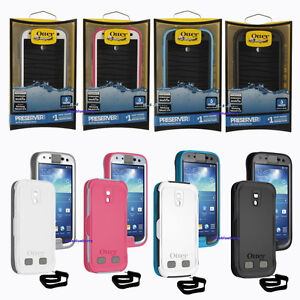 NEW-OtterBox-Preserver-Series-Case-for-Samsung-Galaxy-S4-Carbon-Glacier-Blue