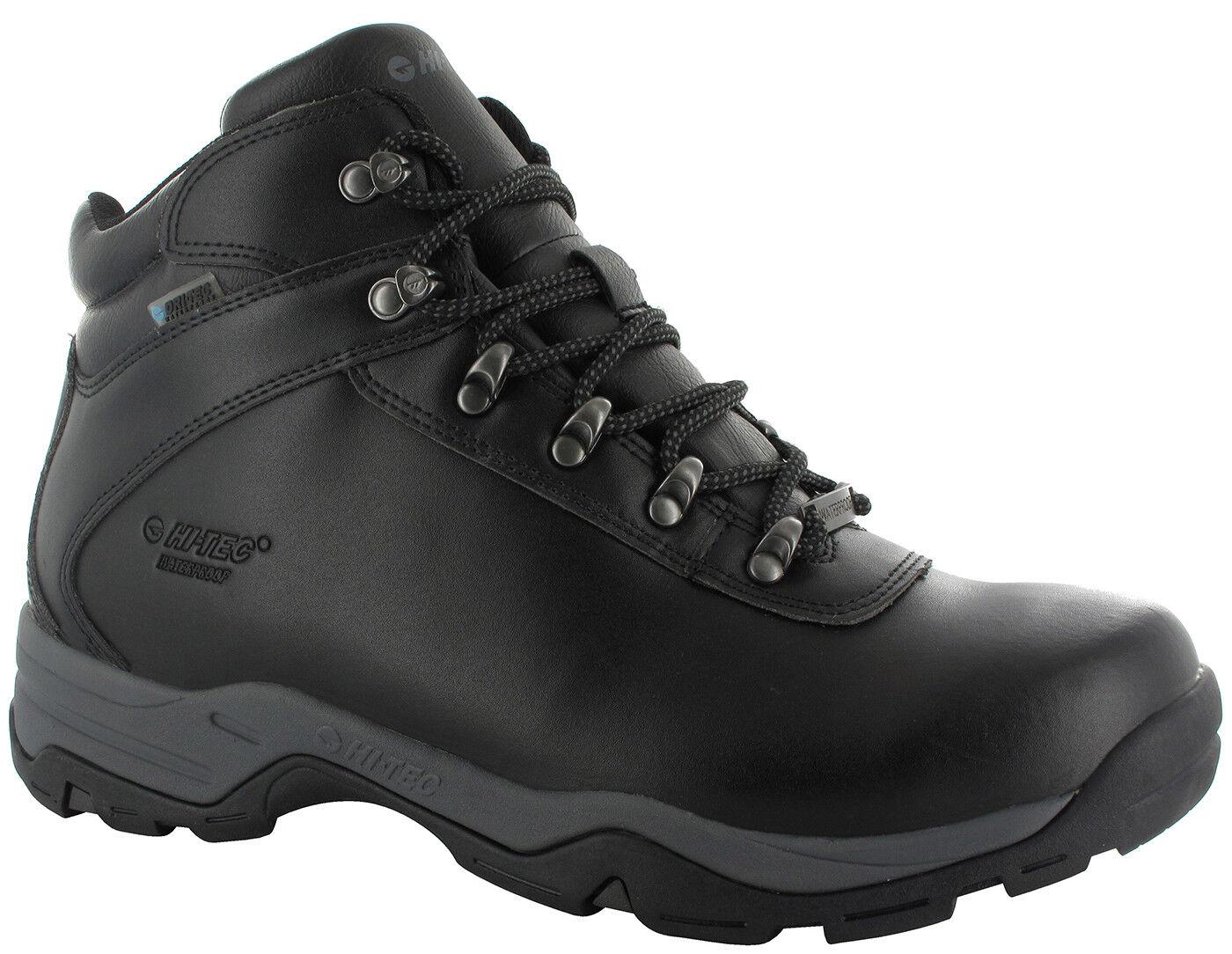 Hi-Tec Euredrek Lite Leather Walking Hiking Waterproof Mens + Ladies MRP