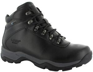 53d3fa87bcc Details about Hi-Tec Eurotrek Lite Leather Walking Hiking Waterproof Mens +  Ladies MRP £79.99