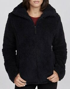 Terrific Details About Bench Sherpa Soft Cozy Funnel Neck Black Fleece Sweater Jacket New Womens Sz S M Ibusinesslaw Wood Chair Design Ideas Ibusinesslaworg