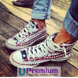 2converse all star borchie borchiate