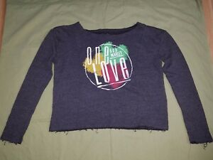 034-Bob-Marley-034-034-One-Love-034-Women-039-s-Sweatshirt-034-Officially-Licensed-034-Size-Large