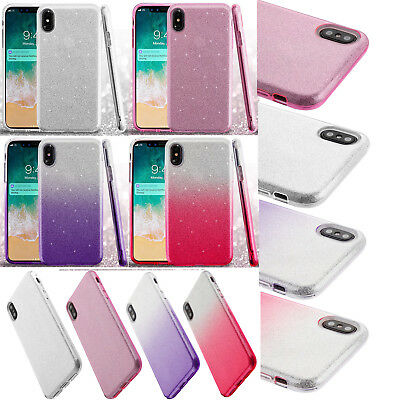 For Apple iPhone XS Max SHINE Hybrid Hard Case Rubber Phone Cover Accessory  | eBay