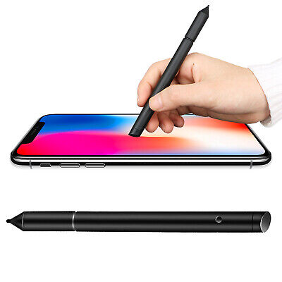 2in1 Precision Thin Capacitive Touch Screen Stylus Pen For iPhone iPad Phone USA