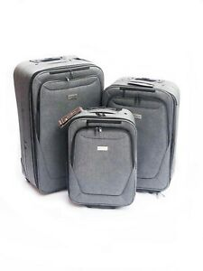 Luggage-Suitcase-Expandable-Bag-Set-Travel-Trolley-Cabin-Ryanair-Lightweight-New