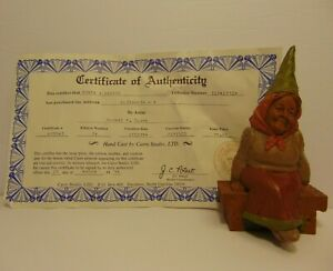 RETIRED-OLD-VINTAGE-1984-TOM-CLARK-SIGNED-GNOME-WOMAN-ELIZABETH-STATUE-FIGURE
