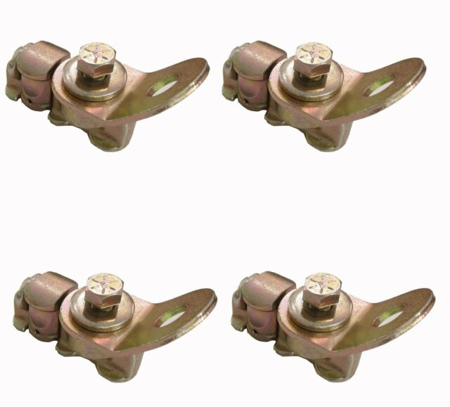 L-Track Fitting w//Swivel Plate 4 Pack Threaded Double Stud Fitting
