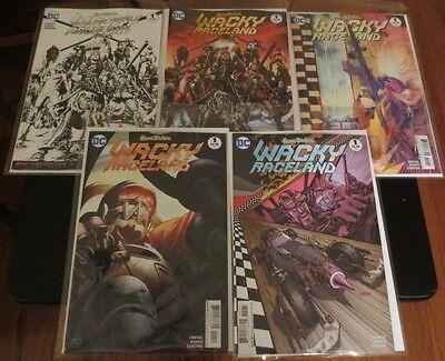 variant covers WACKY RACELAND #1 DC Comics // Hanna Barbera x4