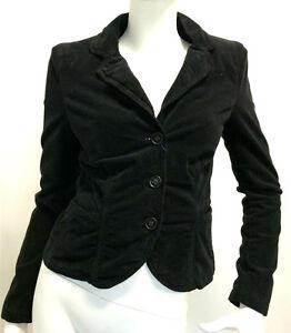 Ebay Jeans Donna Armani Giacca Jacket G5n01bi Velluto Nero vT70qwcqU