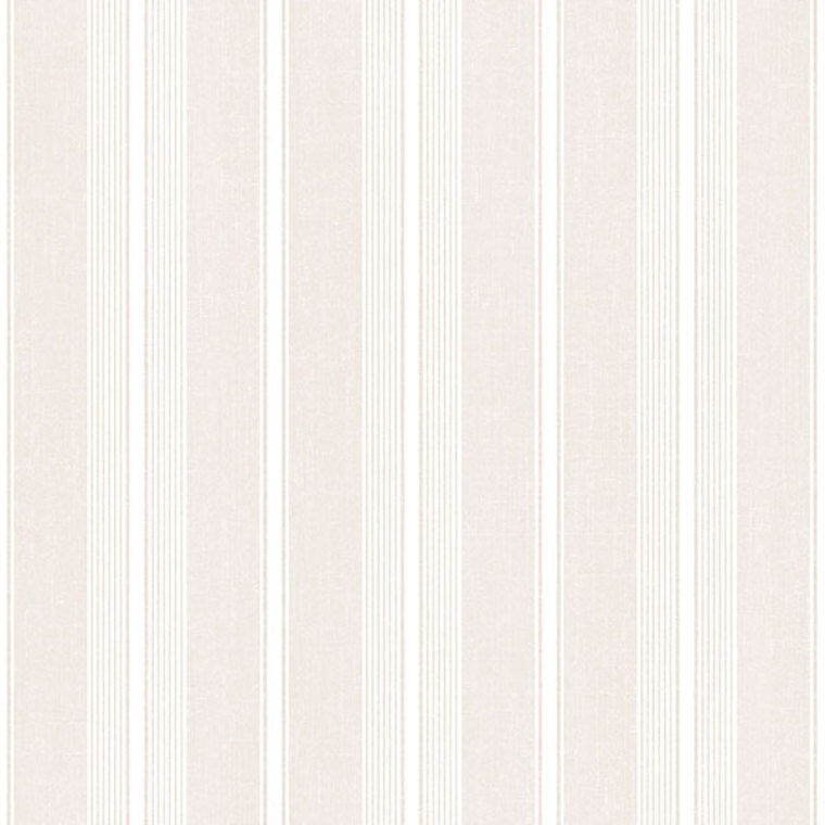 SD36113 - Stripes & Damasks Ivory Stripes Galerie Wallpaper