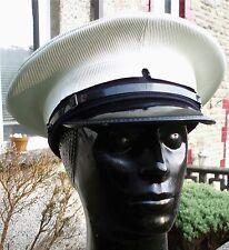57 M ROYAL NAVY PETTY OFFICERS Peaked CAP/HAT RN Military Visor Uniform Dress
