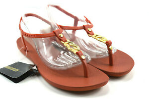 d2740f2d596 NEW IPANEMA Grendene Ankle Strap Thong Sandals Brown Womens Size 10 ...