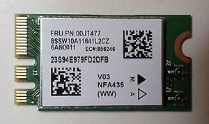 Details about Lenovo 00JT477 01AX709 Qualcomm Atheros QCA9377 QCNFA435 NGFF  M 2 WIFI Wireless