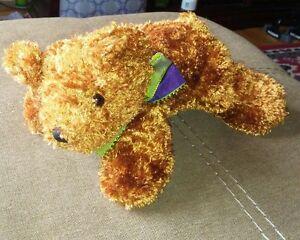 "Dan Dee Collectors Choice Brown Teddy Bear Plush 9"" stuffed animal toy"