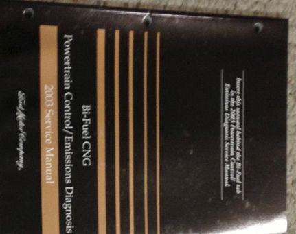 2003 FORD BI FUEL Powertrain Control Emission Service Shop Repair Manual OEM