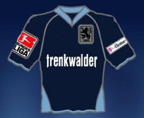 26 Trikot 2007//2008 AWAY Trenkwalder RAR Sammler NEU PIN TSV 1860 München