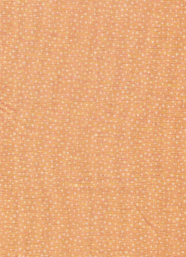 Counting Sheep Light Orange Random Dots Fabric bty PRICE REDUCED