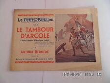 LE PETIT PARISIEN LE TAMBOUR D'ARCOLE PAR ARTHUR BERNEDE L'ENVOL DE L'AIGLE  D62