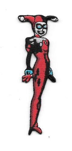 """DC Comics Harley Quinn Standing /""""Batman Animated/"""" Embroidered Patch new"""