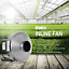 iPower Inline Duct Fan Exhaust Blower HIGH CFM Cool Vent