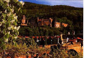 Heidelberg-Stadt-der-Geschichte-Ansichtskarte-gelaufen