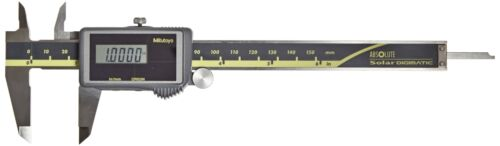 Inch//Metric Mitutoyo 500-474 Digital Calipers for Inside, Solar Powered