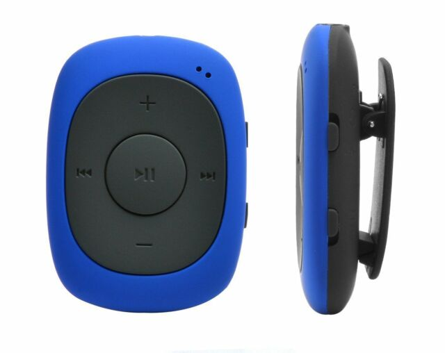 Lettore MP3 Mini-clip da 8 GB con Radio FM, + Auricolari Sportivi