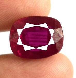 Padparadscha Pink Sapphire Gemstone 13.35 Ct Cushion Natural Certified A14000