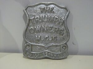 The Triumph Owners Motorcycle Club Badge