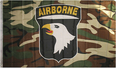 0.9mx5 '101st Airborne Division Tarnfarbe Flagge Fahne Screaming Eagles Usa 3x5 Im In- Und Ausland FüR Exquisite Verarbeitung, Gekonntes Stricken Und Elegantes Design BerüHmt Zu Sein