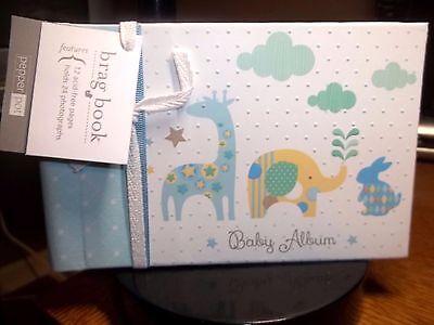 Giraffe Boy Pepper Pot Baby Picture Brag Book