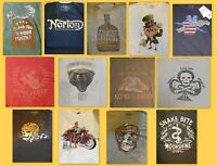 Lucky Brand Men's 100% Cotton S/s Graphic T-shirts Many Styles & Sizes