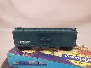 HO-SCALE-ATHEARN-BLUE-BOX-KIT-BUILT-40-039-BOX-CAR-BRITISH-COLUMBIA
