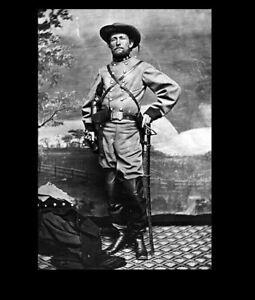Confederate-Raider-John-S-Mosby-PHOTO-Civil-War-Rebel-Mosby-039-s-Raiders-CSA