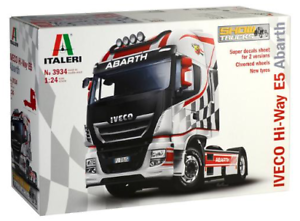Italeri 1 24 Iveco Hi-Way E5 Abarth