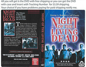 Details about NIGHT OF THE LIVING DEAD JUDITH O'DEA HORROR DVD Free  Shipping with DVD Only