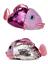 Pantoufles Femme Filles Multi Sequin Couleur Changeante Poisson Intérieur Pantoufles UK 3-8