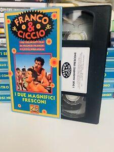 I-DUE-MAGNIFICI-FRESCONI-Franco-E-Ciccio-VHS-ITA-In-Italiano-No-Dvd