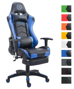 Fauteuil Bureau Racing Gamer TURBO Chaise Gaming Similicuir