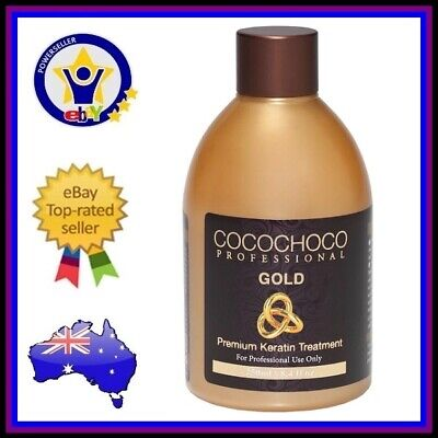 Cocochoco Pro Gold Brazilian Keratin Salon Hair Straightening Treatment 250ml Ebay